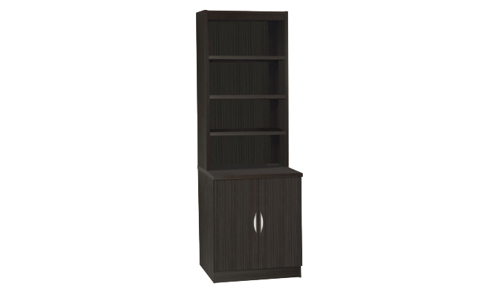 Desk Height Cupboard 600mm Wide With OSD Hutch