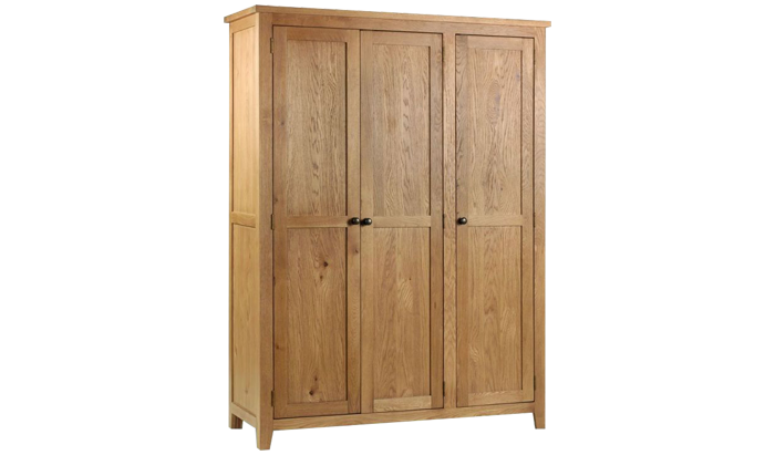 3 Door Wardrobe with fitted Interio