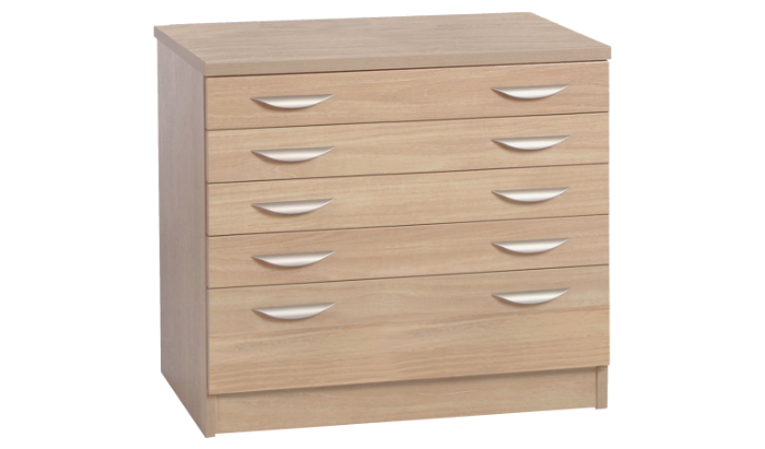 A2 Plan Chest With Deep Lower Drawer