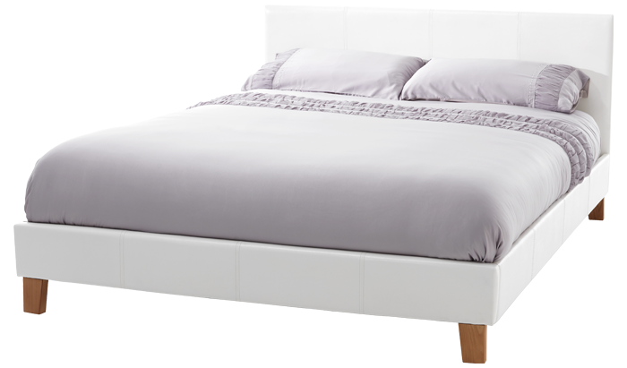 Double Bedstead in White